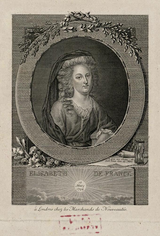 Madame Élisabeth, sœur  de Louis XVI - Page 8 Elisab16