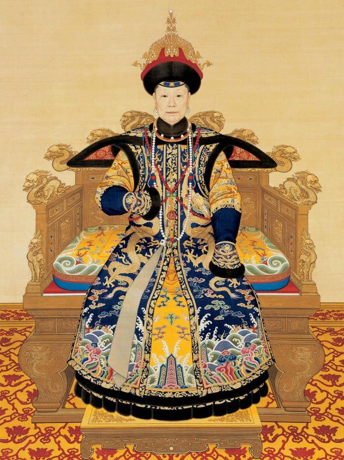 Impératrices, épouses et concubines de l'empereur de Chine (dynastie Qing) dans la Cité Interdite Empres16