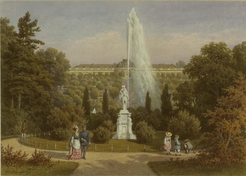 Le palais et le parc de Sans-souci, ou Sanssouci, à Potsdam  Emuseu36
