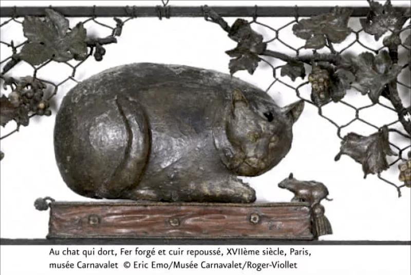 Appel aux dons pour la restauration de 20 enseignes du Musée Carnavalet Enseig10