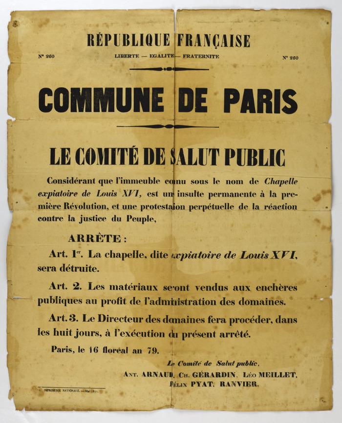 La Chapelle Expiatoire du square Louis XVI, à Paris - Page 2 Event_11