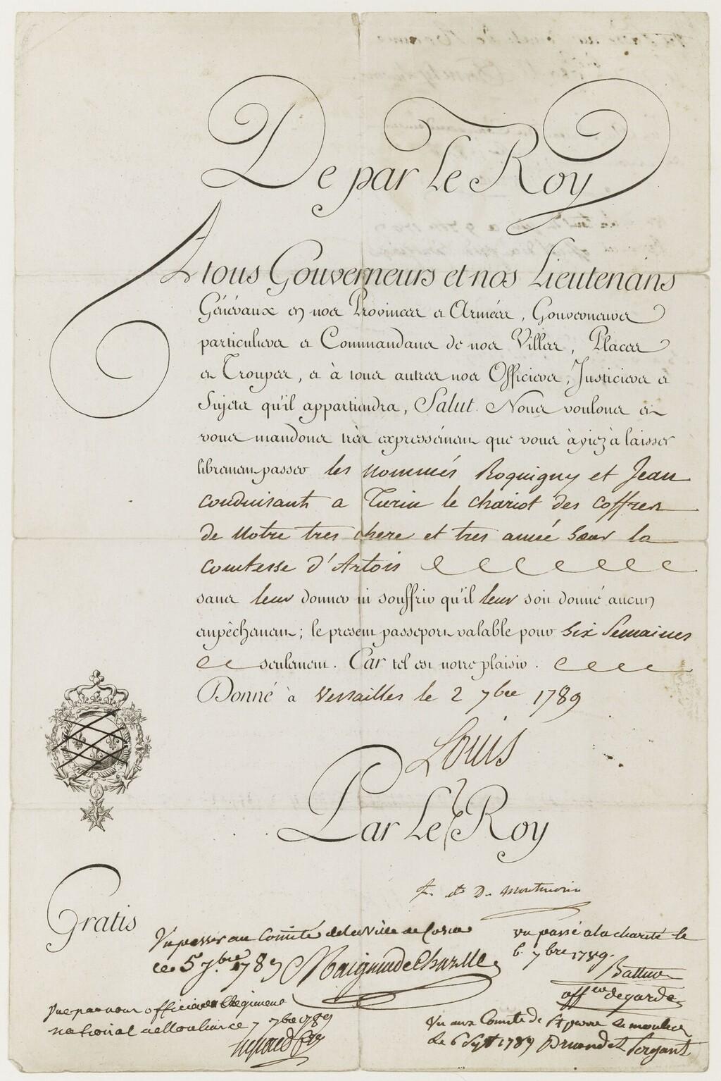 Marie-Thérèse de Savoie, comtesse d'Artois - Page 4 Exil_a10