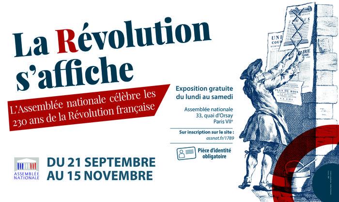 Exposition à l'Assemblée nationale : La Révolution s'affiche Exposi12