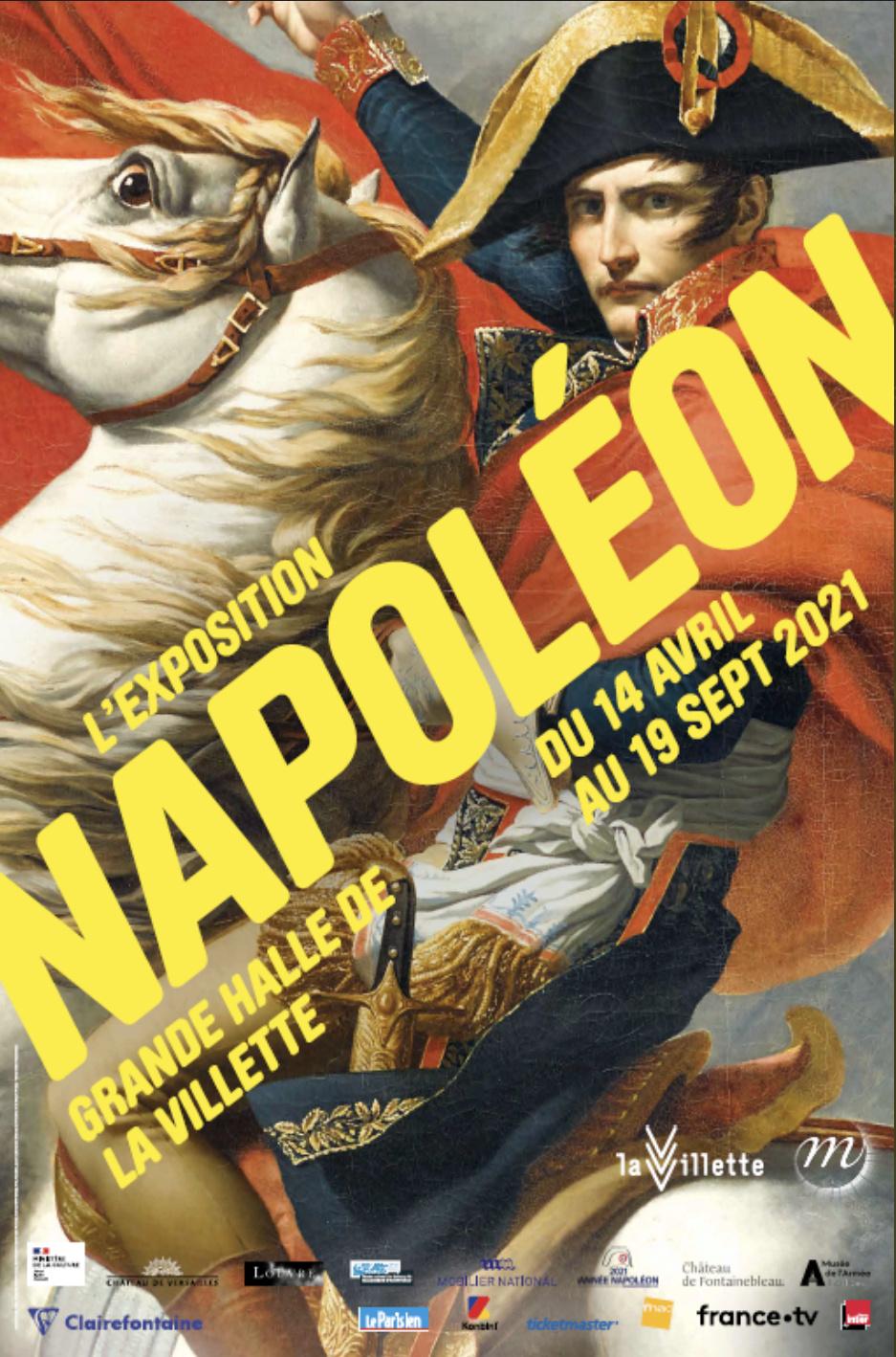 Expositions et évènements : 2021, année Napoléon. Bicentenaire de la mort de l'empereur Napoléon Ier.  Exposi14