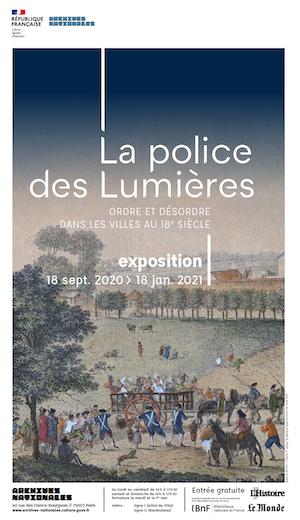 Jean Charles Pierre Lenoir, Lieutenant général de police Exposi15
