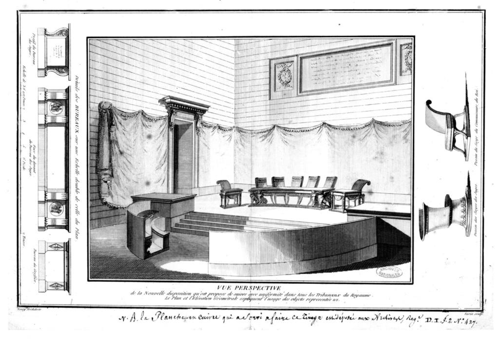 Le palais de Justice de L'île de la Cité, Paris, et la salle du Tribunal révolutionnaire F5_lar10