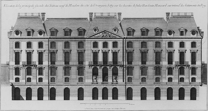 Le château de Meudon Facade10