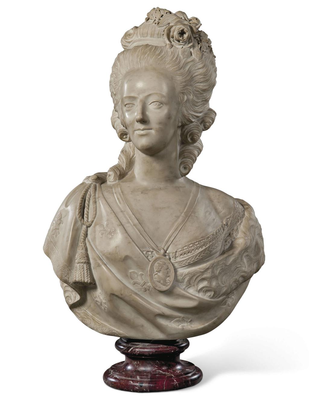 Bustes de Marie Antoinette par et d'après Félix Lecomte Felix_11