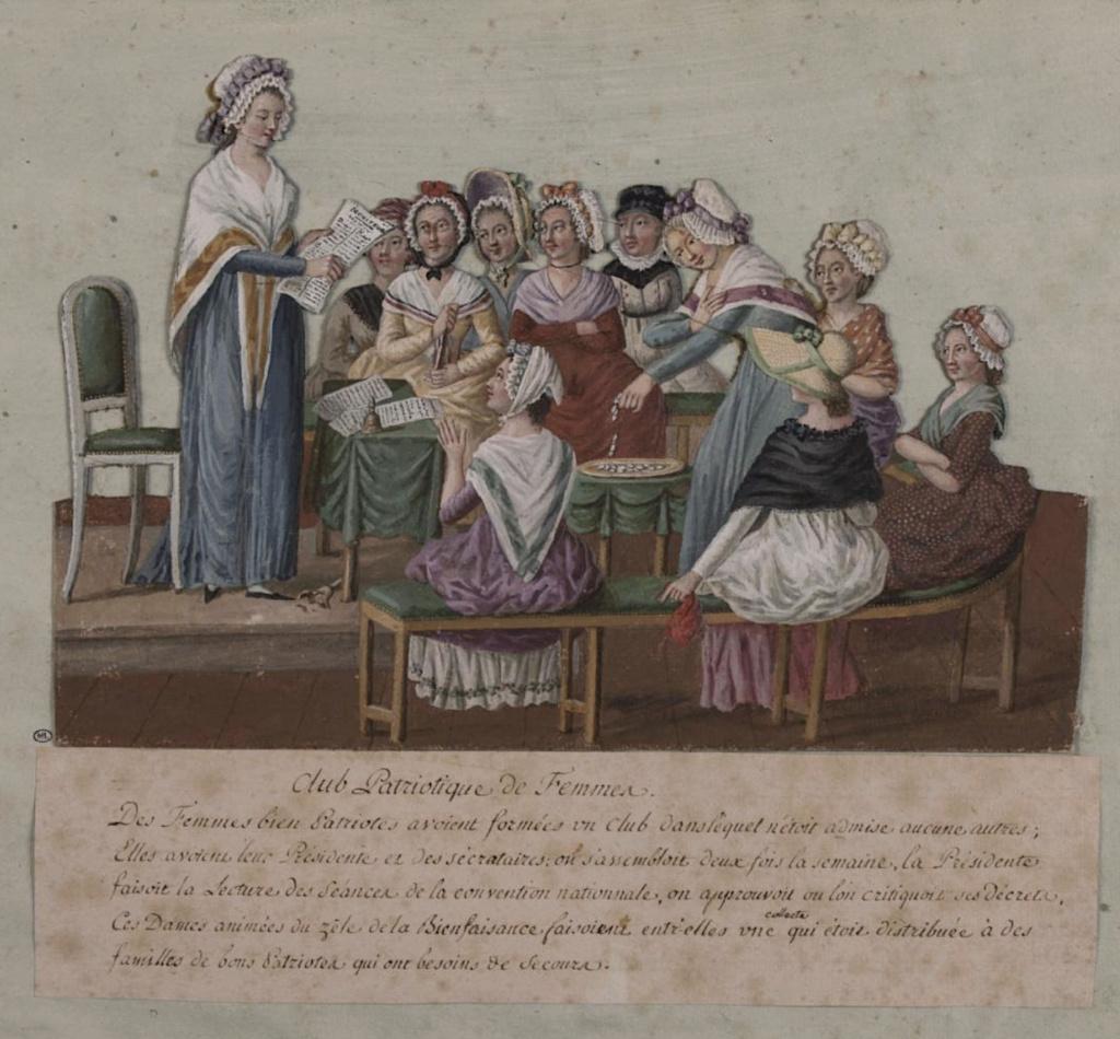 Exposition à la Conciergerie : Femmes en Révolution Femmes10