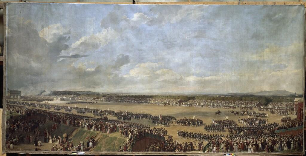 fédération - La Fête de la Fédération (14 juillet 1790)  Fete_f10