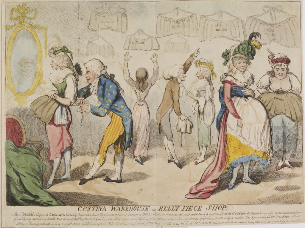 Les robes de grossesse au XVIIIème siècle Figure10