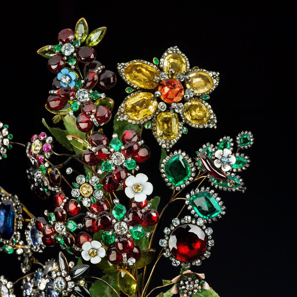Exposition : Jewels ! Glittering at the Russian Court, Hermitage Amsterdam Flower10