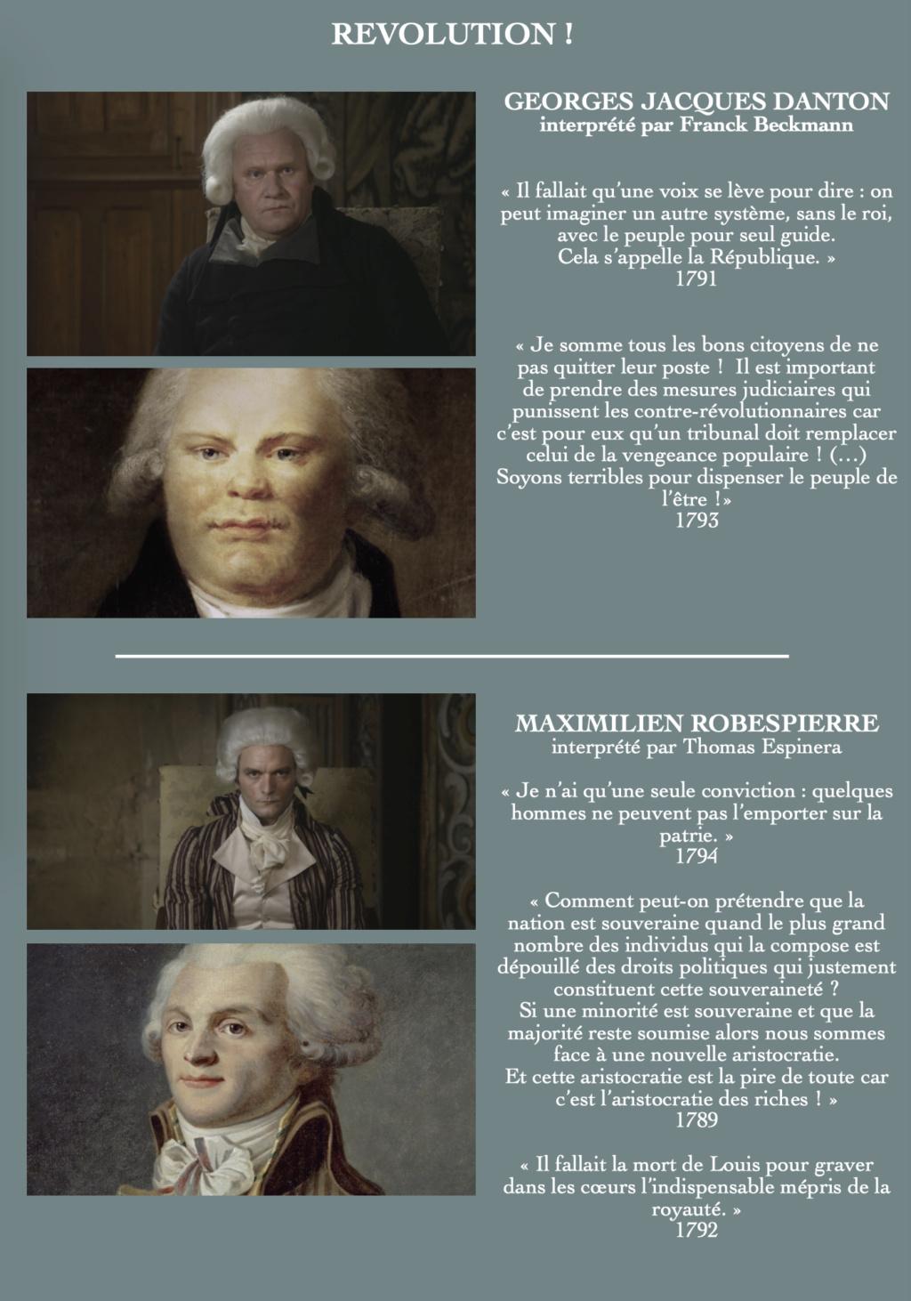 Révolution ! Docu-fiction en deux parties diffusé sur France 2 France10