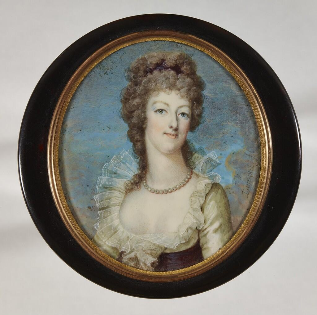 Portraits de Marie-Antoinette sur les boites et tabatières Franco17