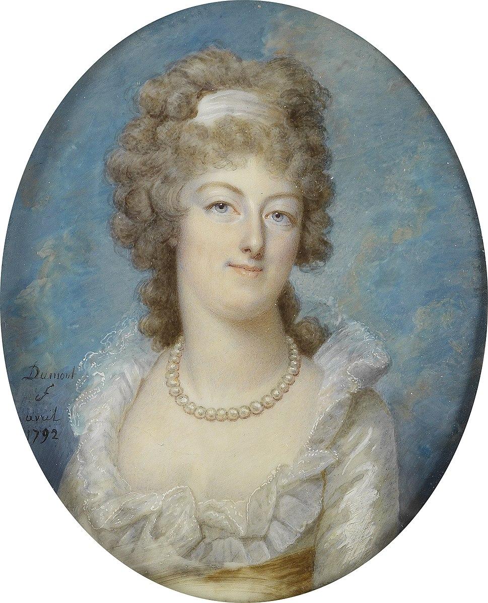 Marie Antoinette, miniatures attribuées à ou d'après François Dumont - Page 2 Franco19