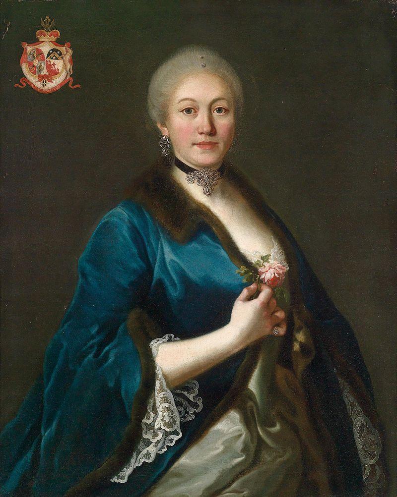La princesse Daschkoff (Dachkov), dame d'honneur de Catherine II Fuirst10