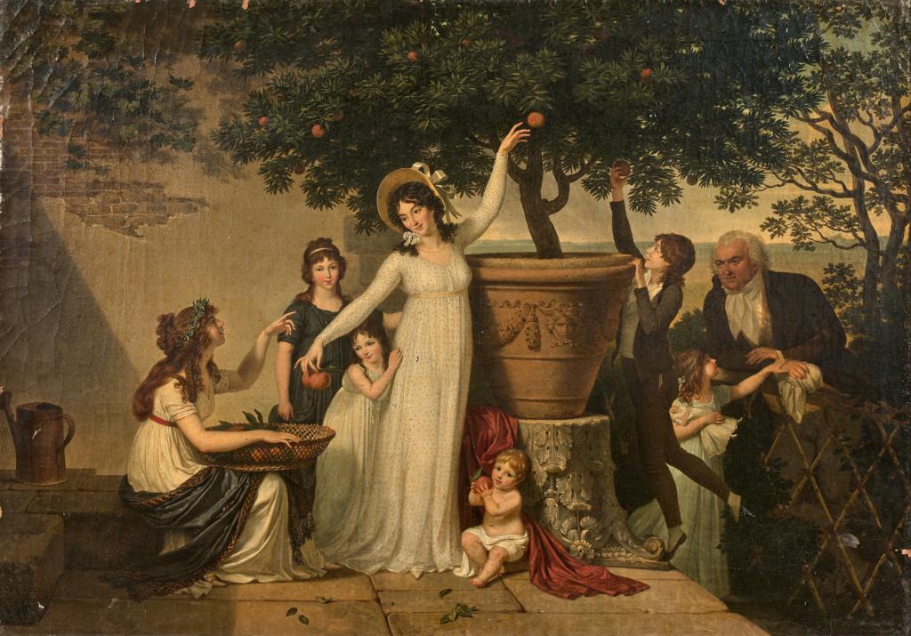 Louis Gauffier (1762-1801), peintre français installé en Italie Gauffi10