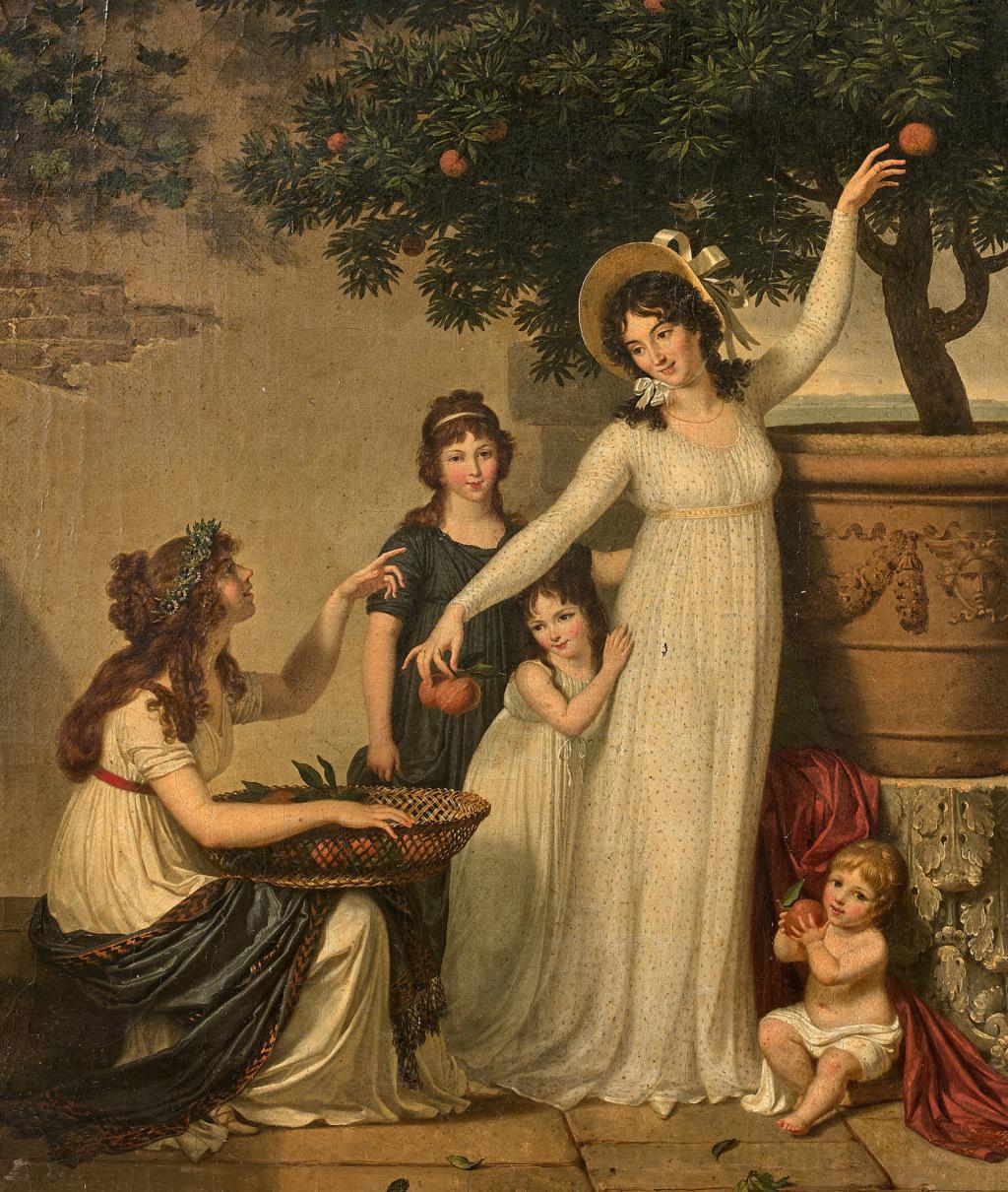 Louis Gauffier (1762-1801), peintre français installé en Italie Gauffi11