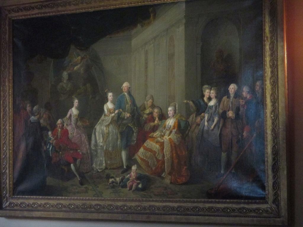 Qui sont les personnages peints sur ce tableau de Jean-Baptiste-André Gautier Dagoty ? Gautie10