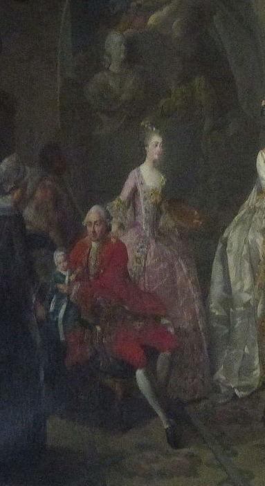 Qui sont les personnages peints sur ce tableau de Jean-Baptiste-André Gautier Dagoty ? Gautie11