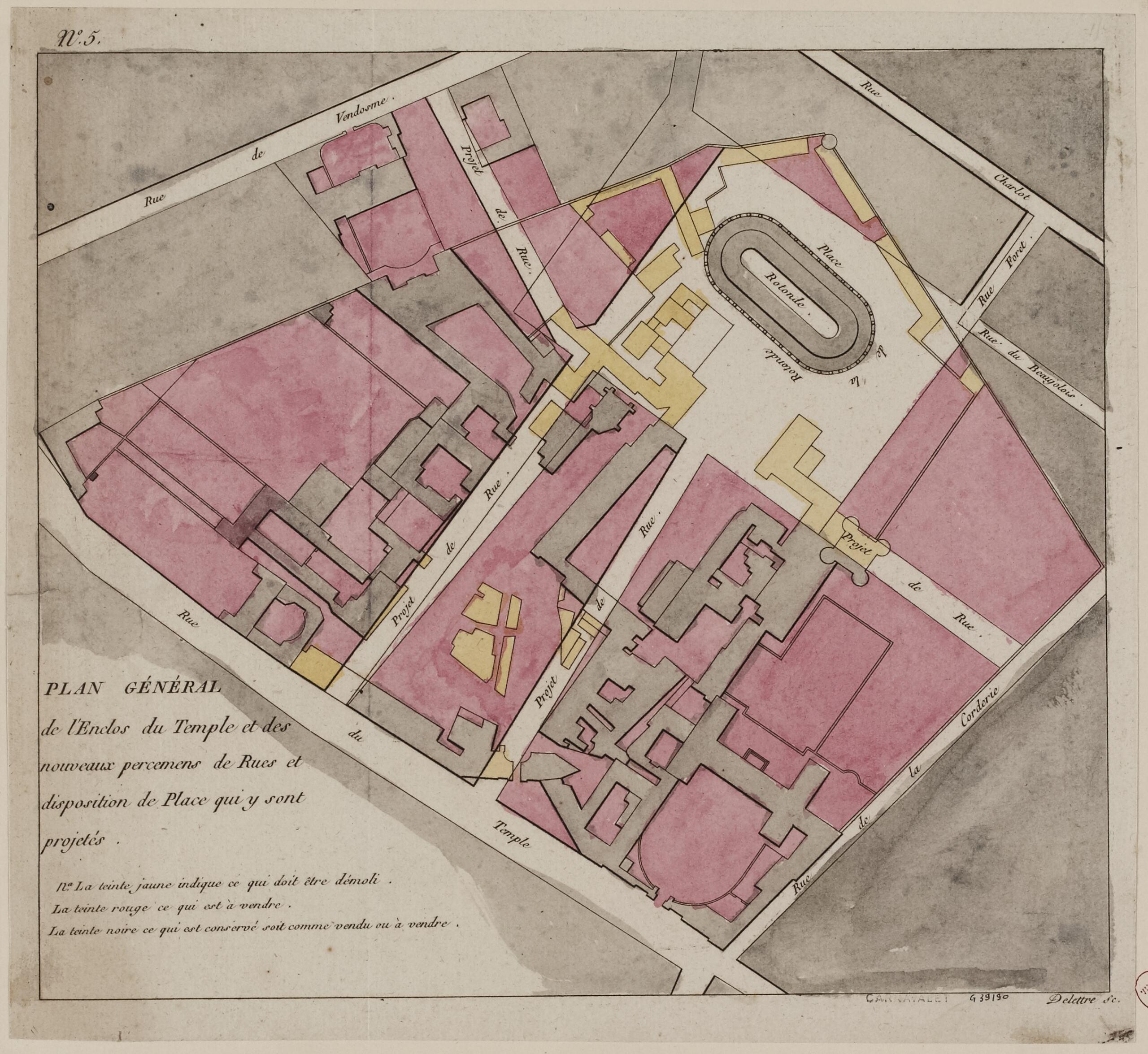 L'enclos du Temple au XVIIIe siècle - Page 3 Genera10