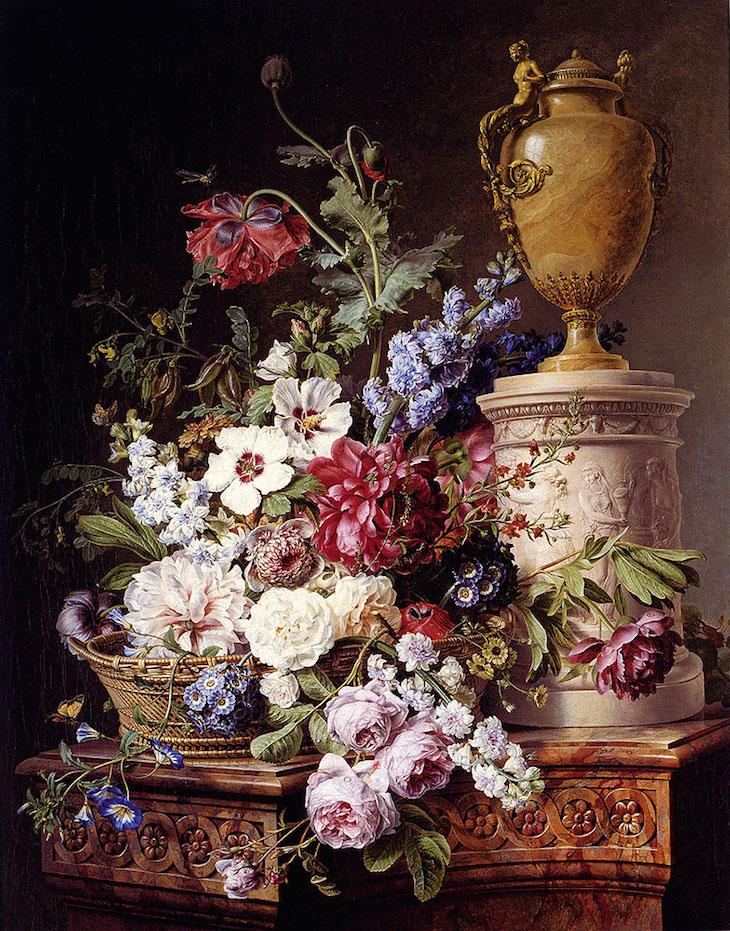 La peinture des fleurs : Sophie de Fuligny-Damas, marquise de Grollier Gerard10