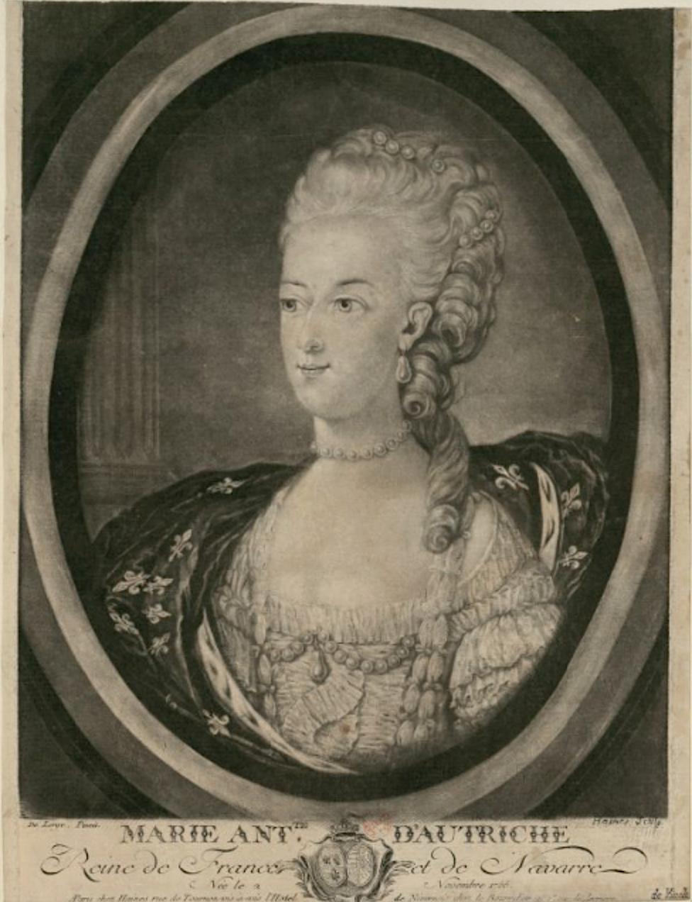 Portraits de Marie-Antoinette : les gravures, estampes, mezzotintes, aquatintes etc.  - Page 3 Gravur22