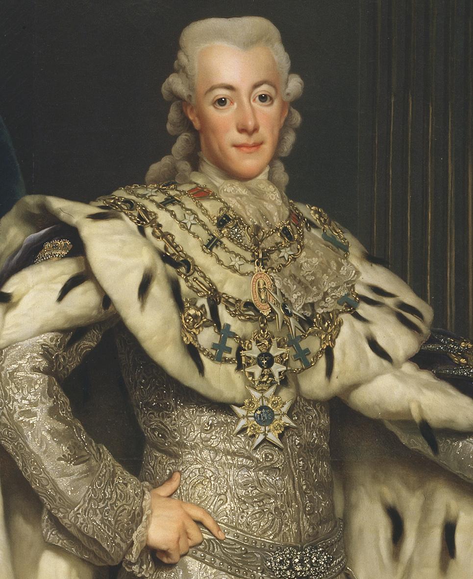 Le roi Gustave III  de Suède Gustav12