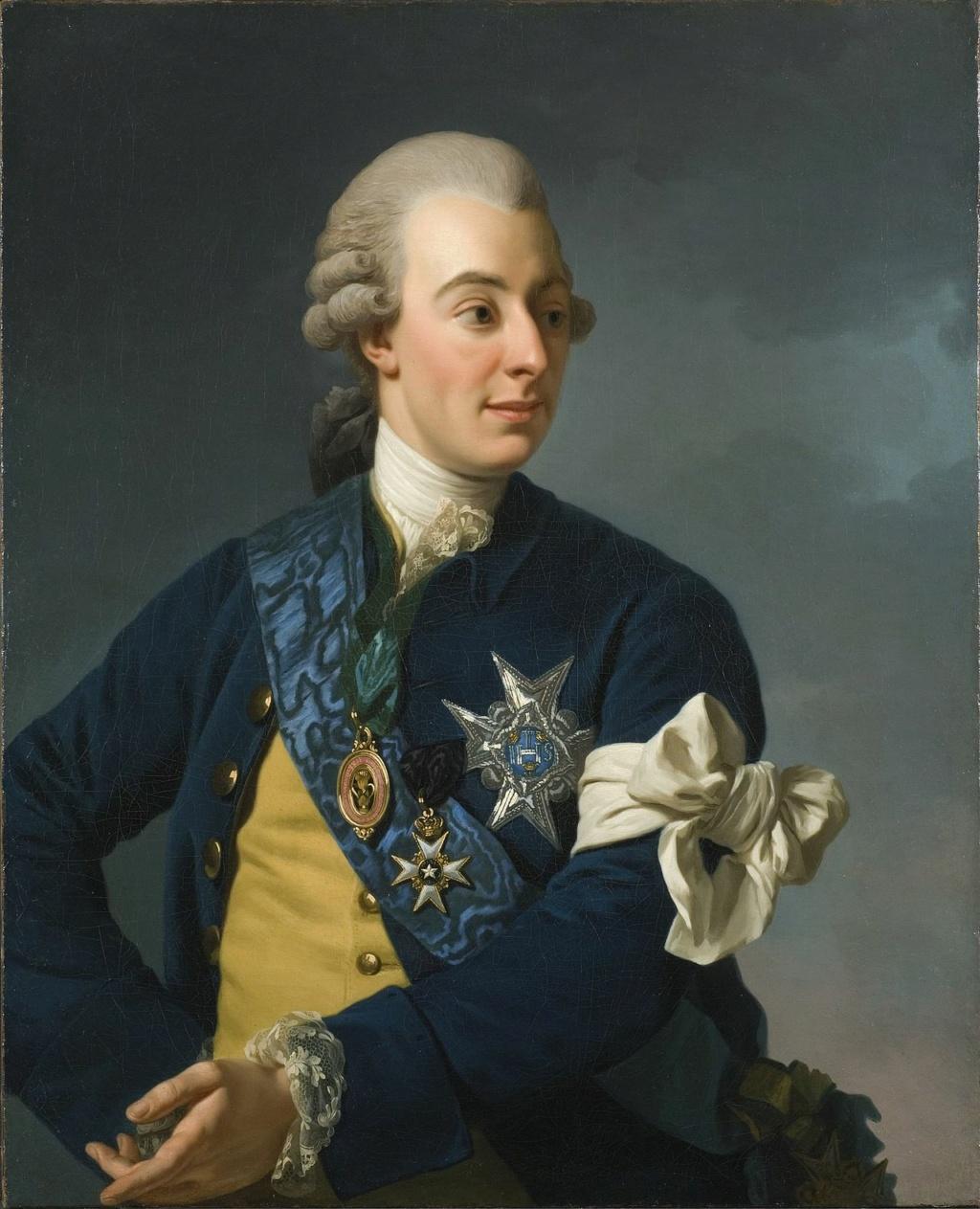 Le roi Gustave III  de Suède Gustav13