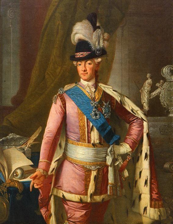 Le roi Gustave III  de Suède Gustav14