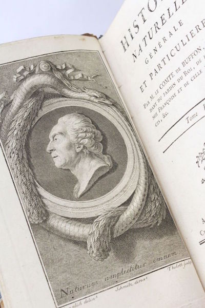 """buffon - """"Histoire naturelle, générale et particulière"""" du comte de Buffon H-300017"""