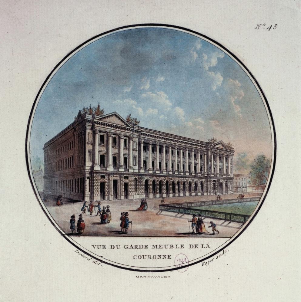 Le Garde-Meuble de la Couronne, actuel Hôtel de la Marine - Page 6 Hoatel20