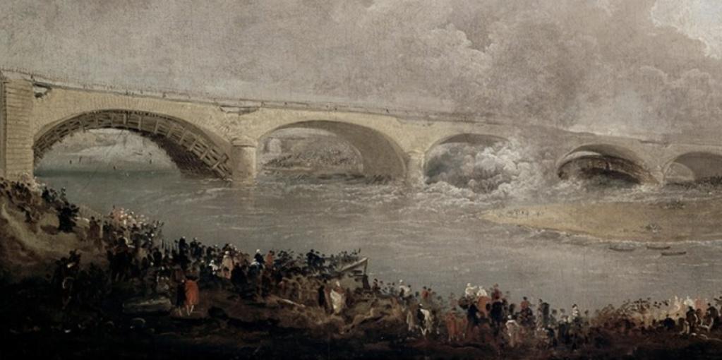 Le pont de Neuilly au XVIIIe siècle Hubert11