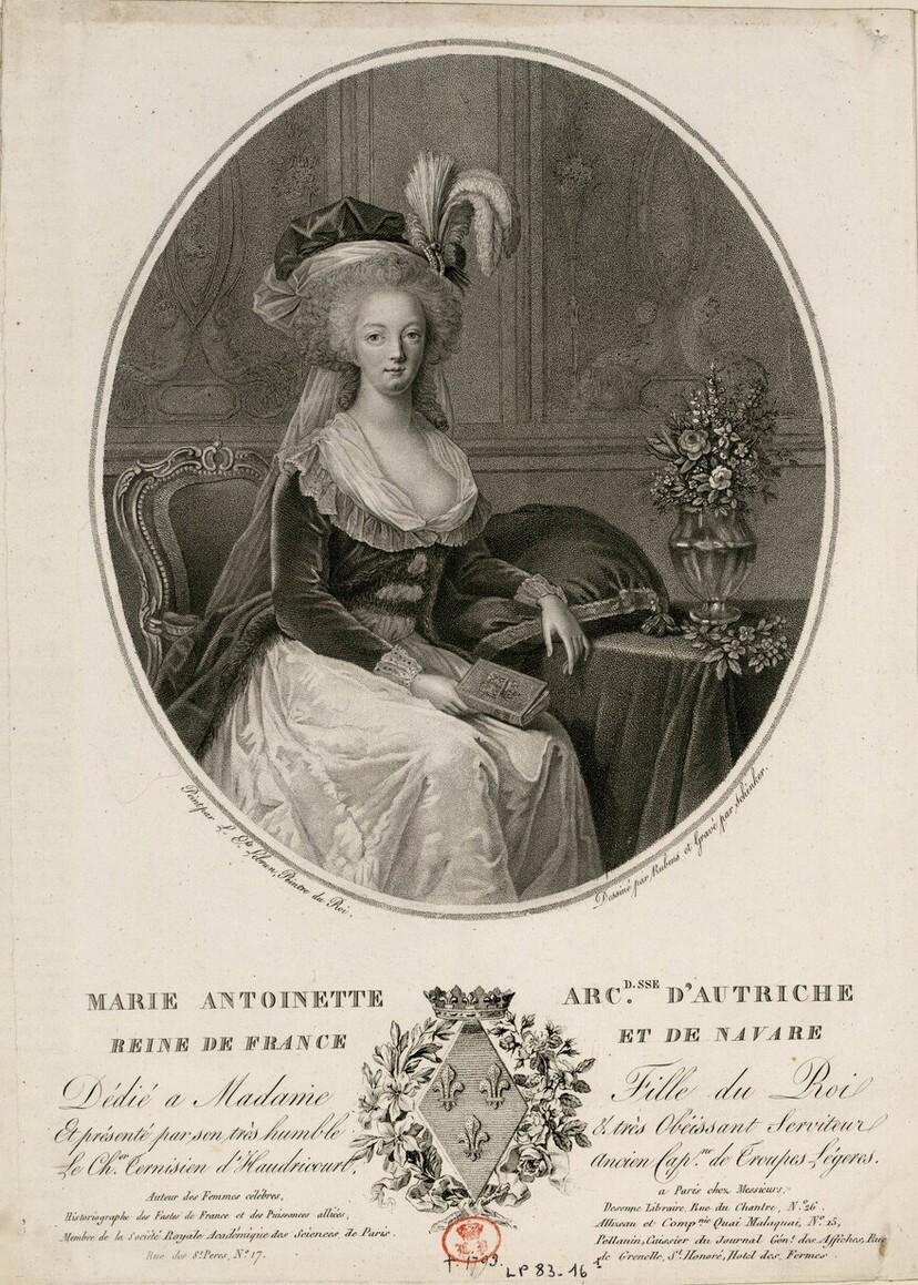 Portraits de Marie-Antoinette au livre, en robe bleue, par Vigée Le Brun (1785 - 1788 ?) - Page 2 Image118