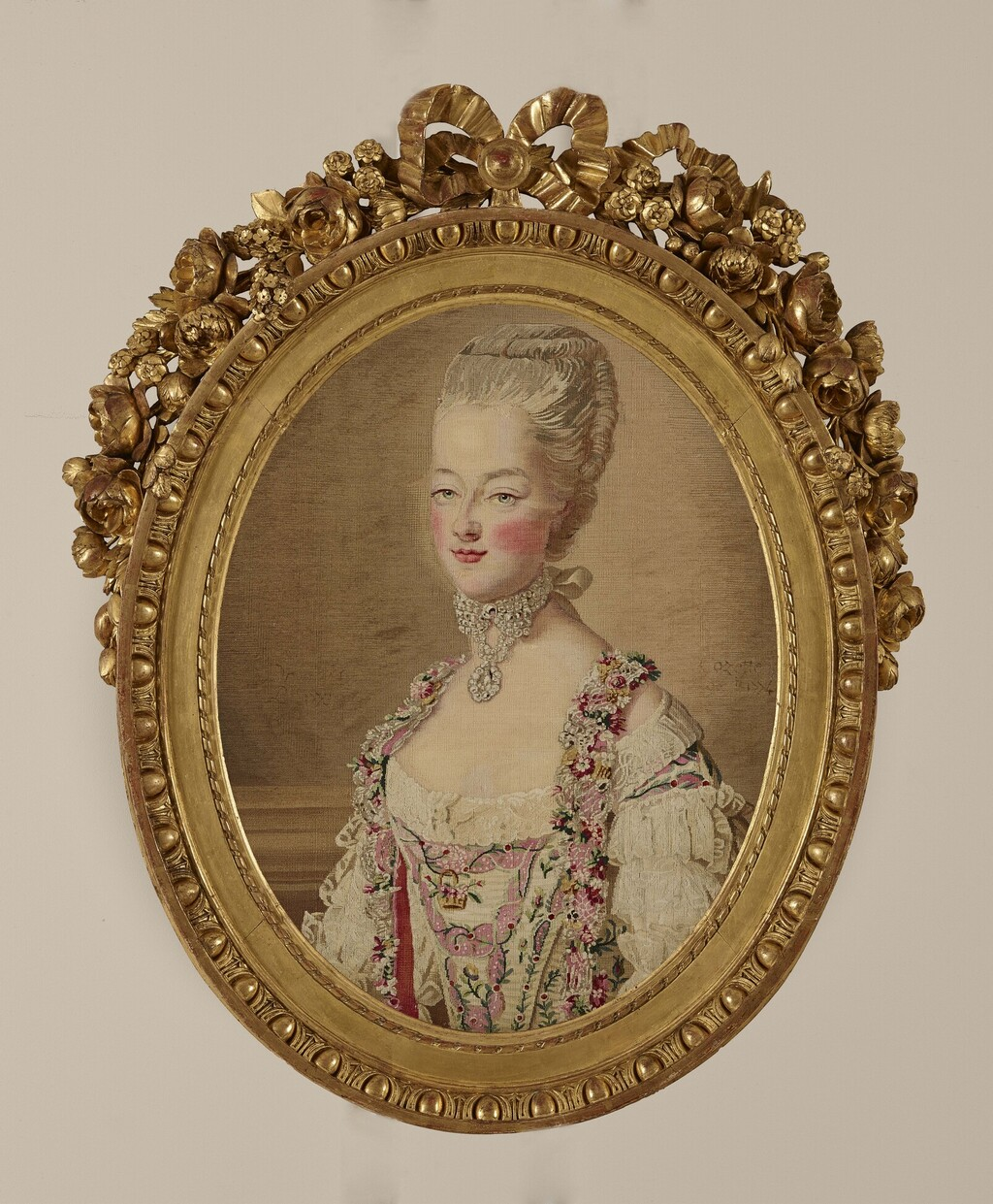 Tapisseries des Gobelins, atelier Cozette : collection de portraits, dont ceux de Marie-Antoinette Image149