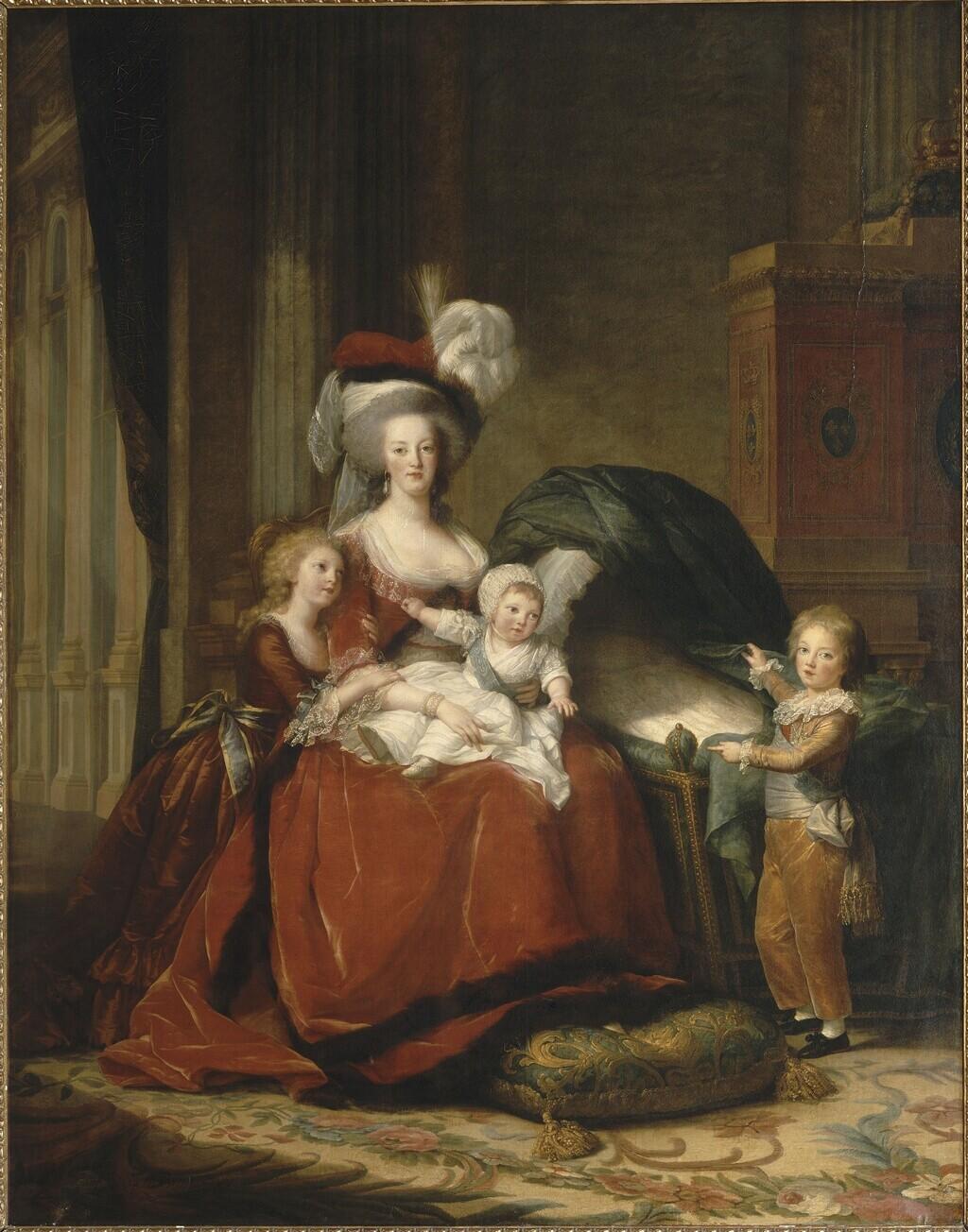 Marie-Antoinette et ses enfants, par Elisabeth Vigée Le Brun (1787) - Page 2 Image163