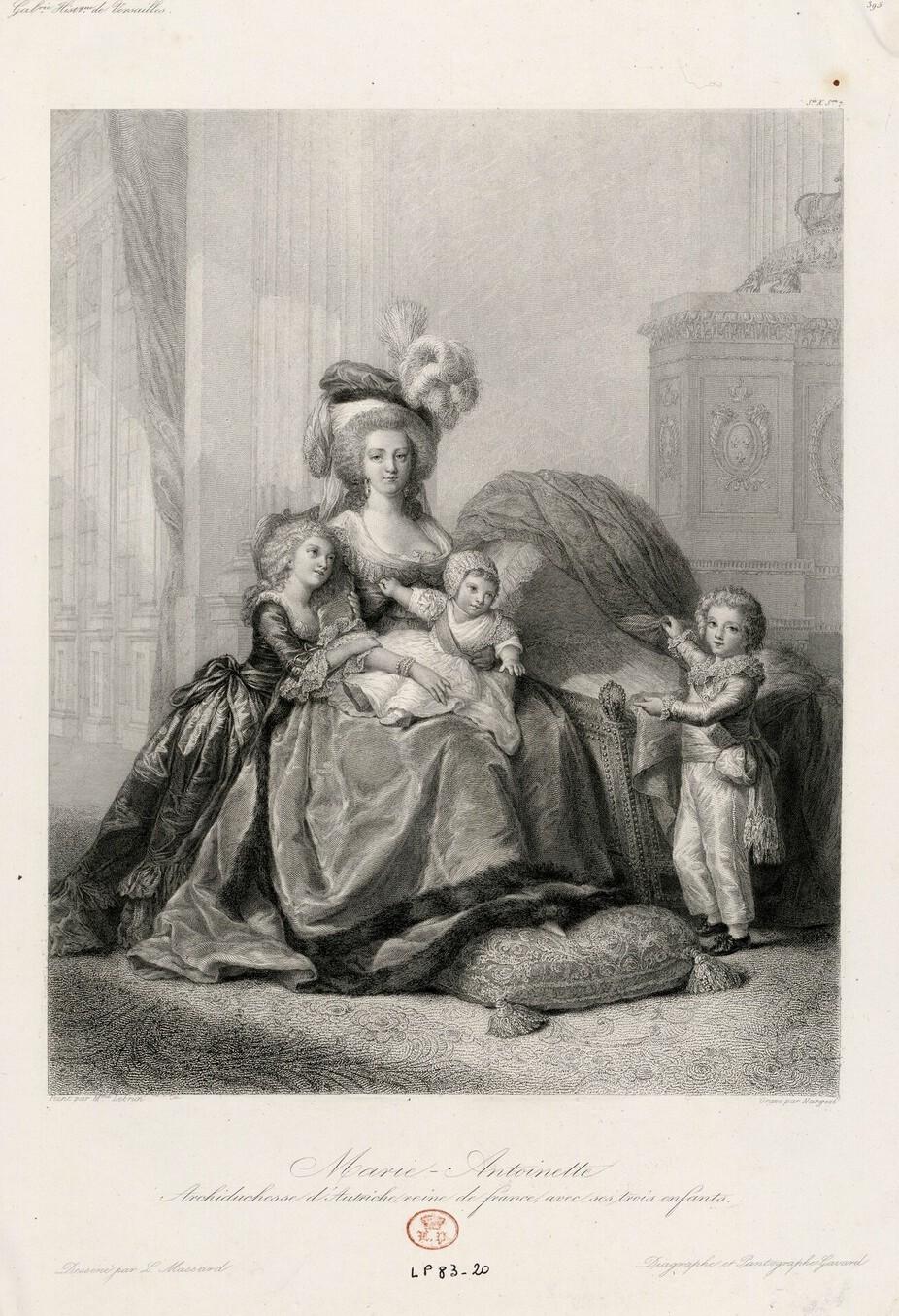 Marie-Antoinette et ses enfants, par Elisabeth Vigée Le Brun (1787) - Page 2 Image165