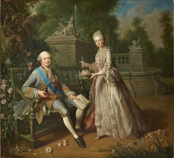 Qui sont les personnages peints sur ce tableau de Jean-Baptiste-André Gautier Dagoty ? Image208