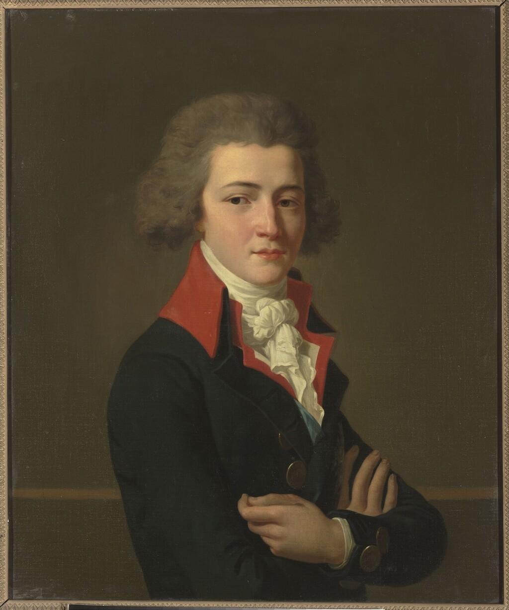 La leçon de harpe. Du peintre Jean-Antoine-Théodore Giroust Image249