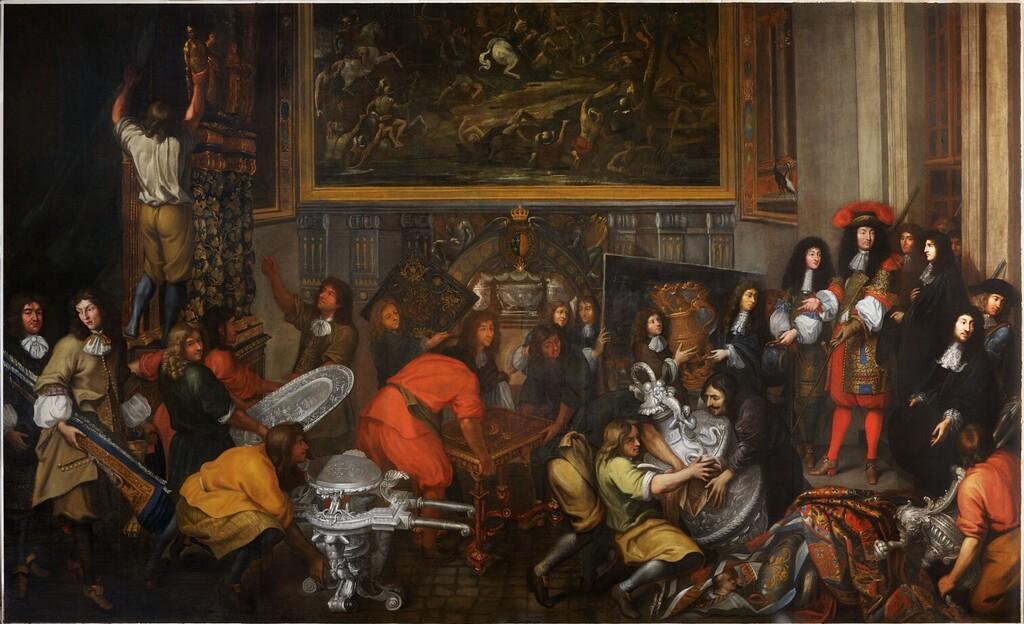 Exposition : Créer pour Louis XIV, les manufactures de la Couronne sous Colbert et Le Brun - Galerie des Gobelins Image320