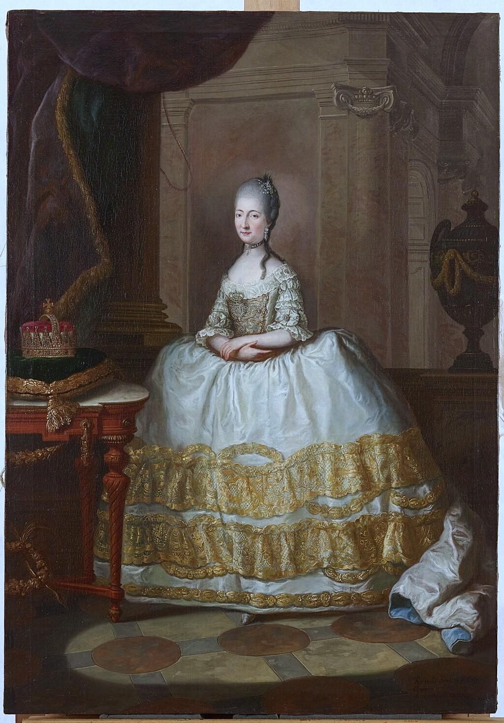 Les visites des archiducs Maximilien et Ferdinand d'Autriche, à Versailles Image324