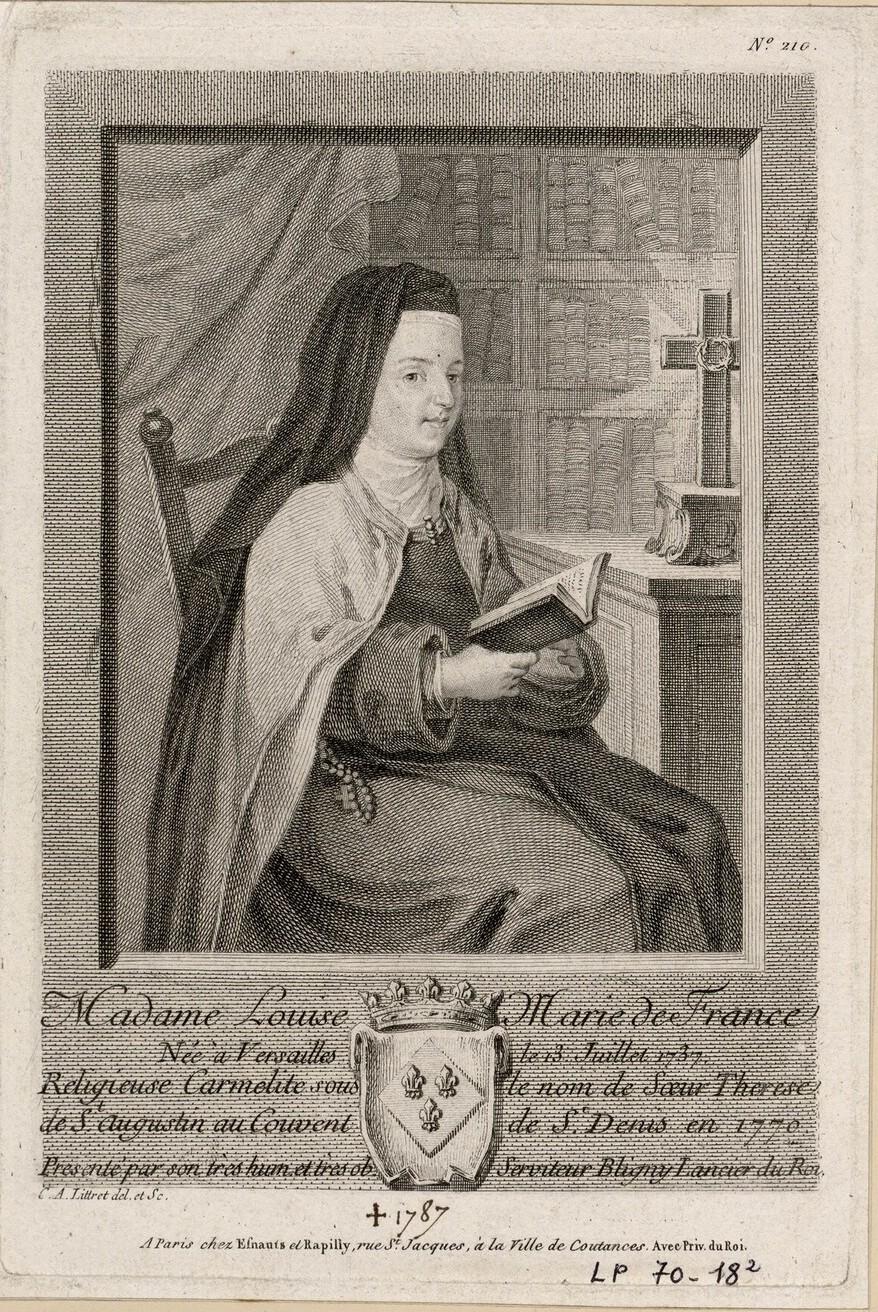 Louise-Marie de France, dite Madame Louise Image332