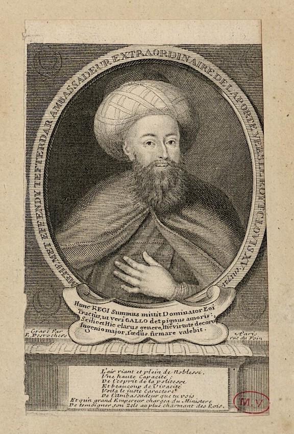 Yirmisekiz-Mehmed Çelebi Efendi - Ambassadeur de la Sublime Porte en visite en France de 1720 à 1721 Image368