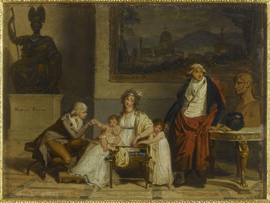 Louis Gauffier (1762-1801), peintre français installé en Italie Image400