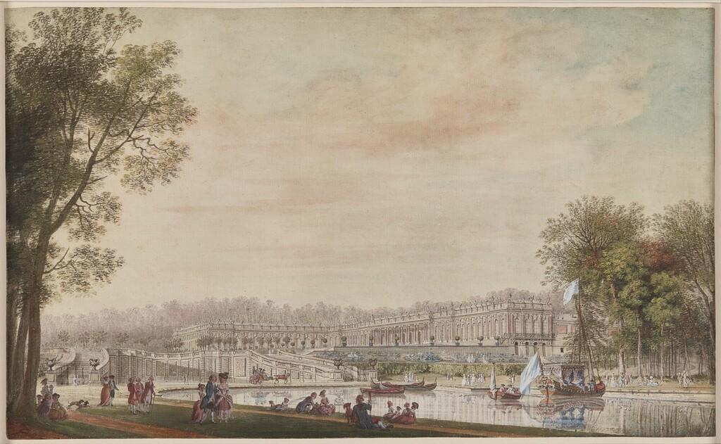 Le canot de promenade de Marie-Antoinette à Versailles Image454