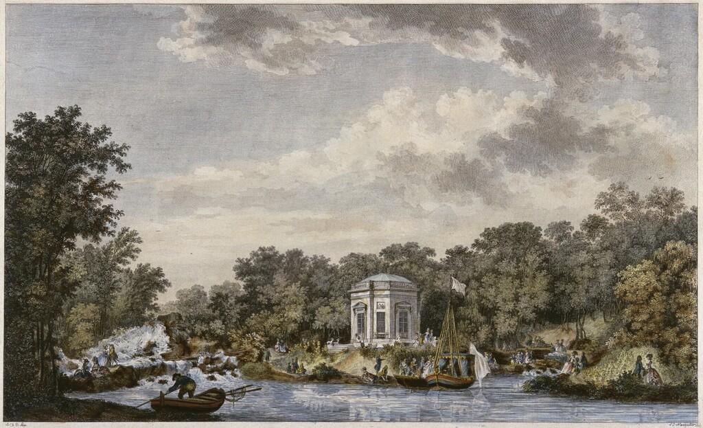 Le canot de promenade de Marie-Antoinette à Versailles Image455
