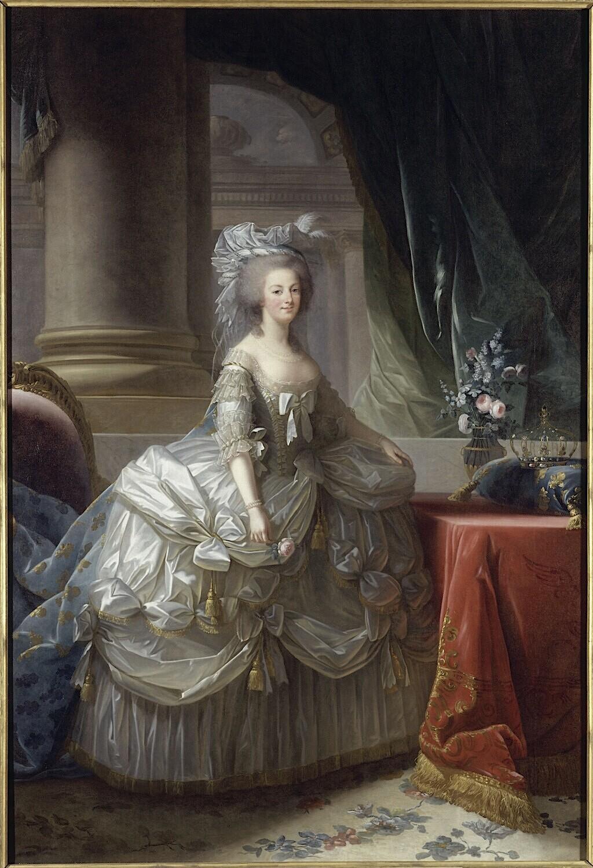 Marie-Antoinette par Vigée Le Brun (1783), d'après le portrait de 1778 Imagep22
