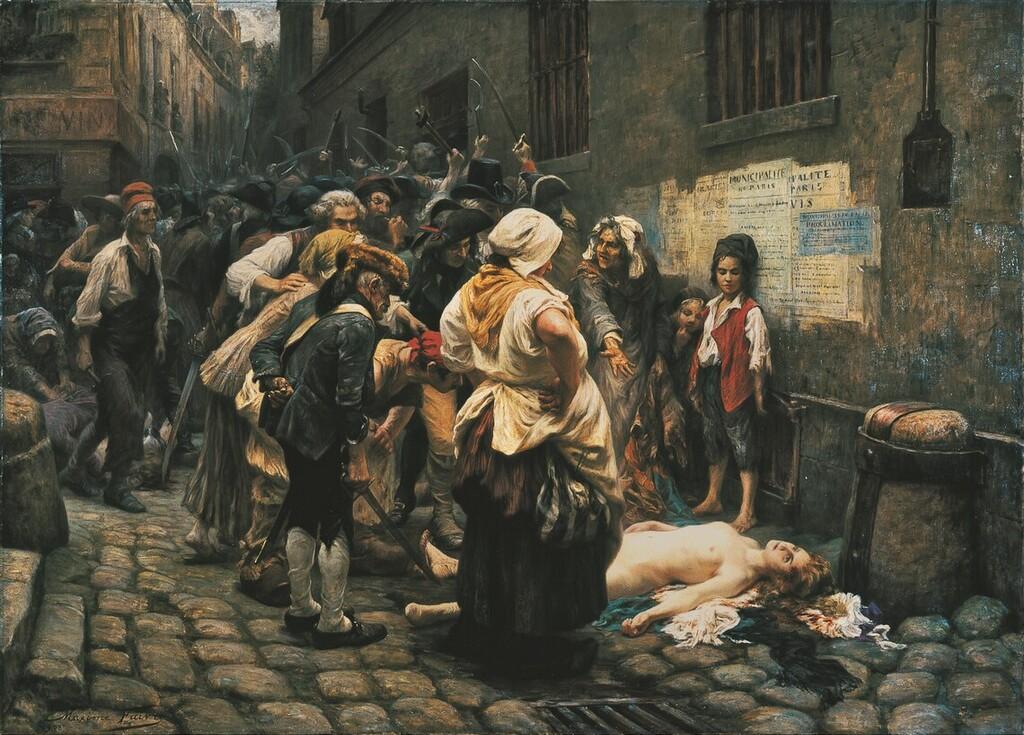 La mort de la princesse de Lamballe Imagep98