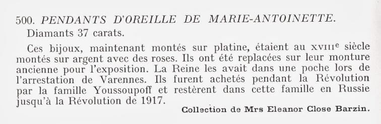 Bijoux de Marie-Antoinette : boucles d'oreilles et girandoles Img00212