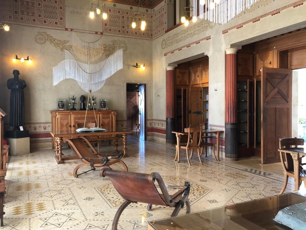 La villa Kerylos Img_0949